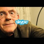 Christopher Lloyd Skypes Back To The Future superfans.